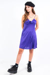 Vintage 90's Purple Slip Dress