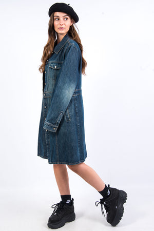 Vintage Y2K Longline Denim Jacket