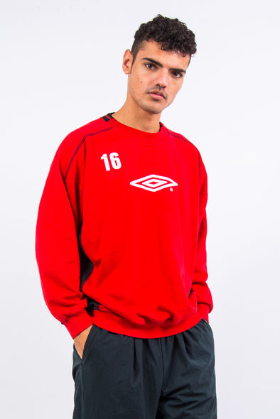 00's Vintage Umbro Sports Sweatshirt