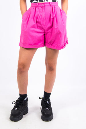 Vintage 90's Pink High Waist Mom Shorts