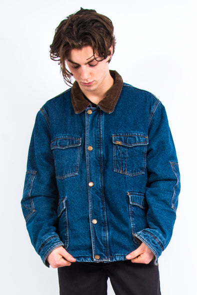90's Wrangler Denim Chore Jacket