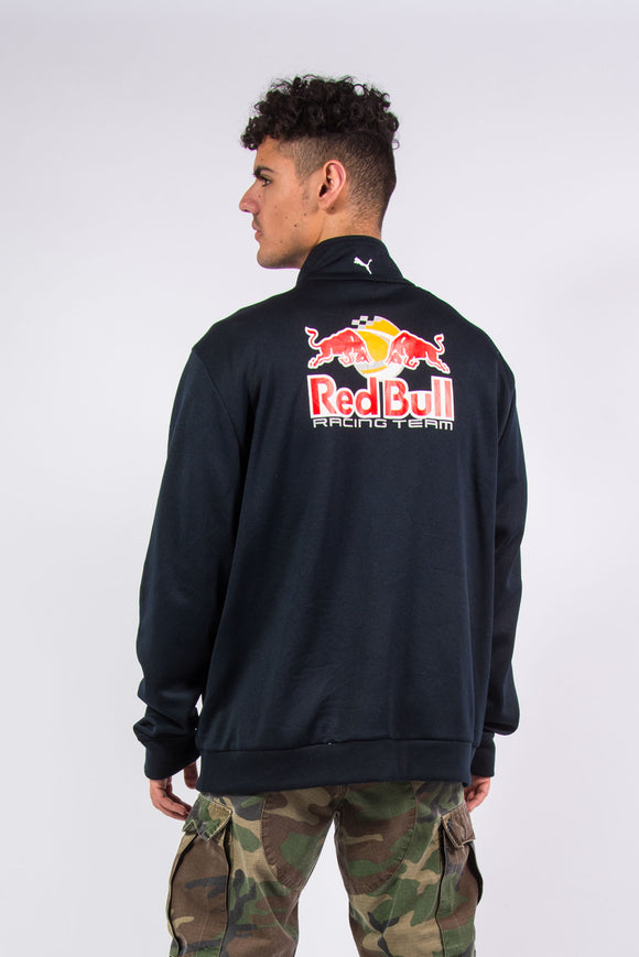 Y2K Puma Red Bull Racing Team F1 Tracksuit Jacket Top