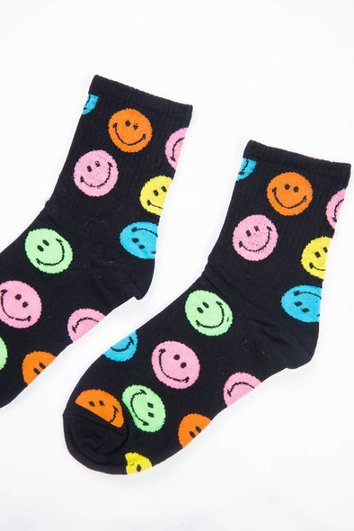 Smiley 90's Inspired Socks