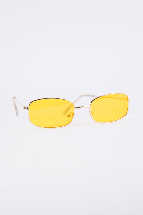 Vintage Roxy Yellow Sunglasses