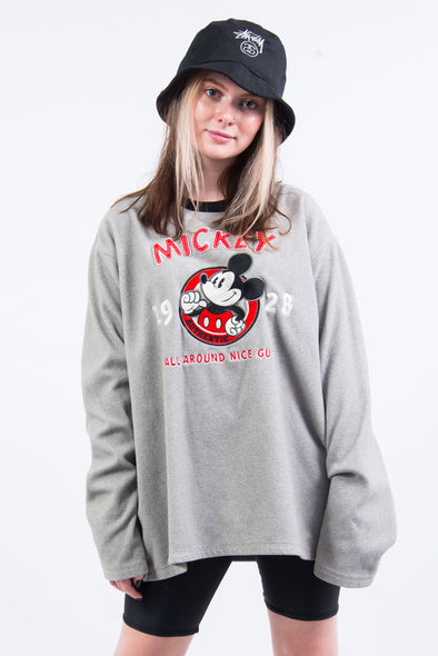 Vintage 90's Disney Mickey Fleece Sweatshirt