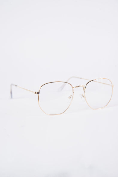 Toni Clear Lense Glasses