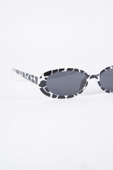 Lola Cow Print Sunglasses