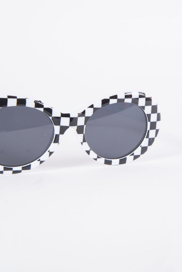 Kurt Checkerboard Sunglasses