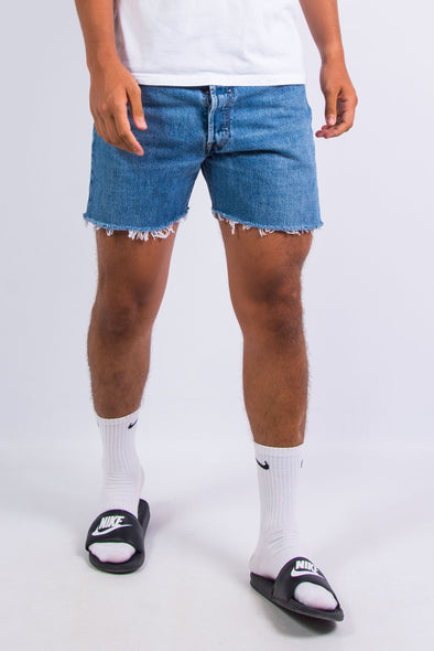 Vintage Levi's 501 Blue Denim Shorts