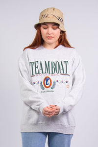 Vintage 90's Colorado Skiing Sweatshirt