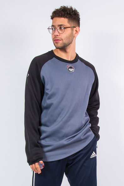 Adidas Sports Sweatshirt Wolves Baseball