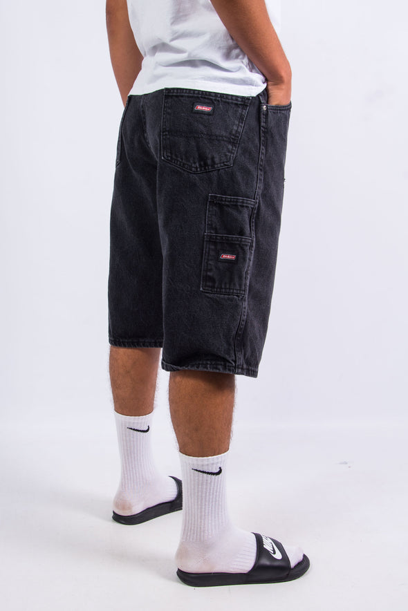 Vintage Dickies Black Denim Carpenter Shorts
