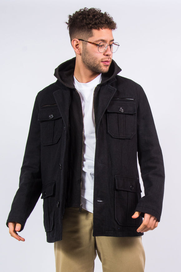 Guess Smart Style Jacket With Hood