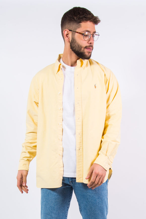 Vintage Ralph Lauren Yellow Shirt
