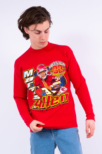 90's Kansas City Chiefs NFL Sweatshirt