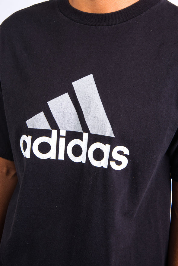 Vintage Adidas Three Stripe Logo T-shirt
