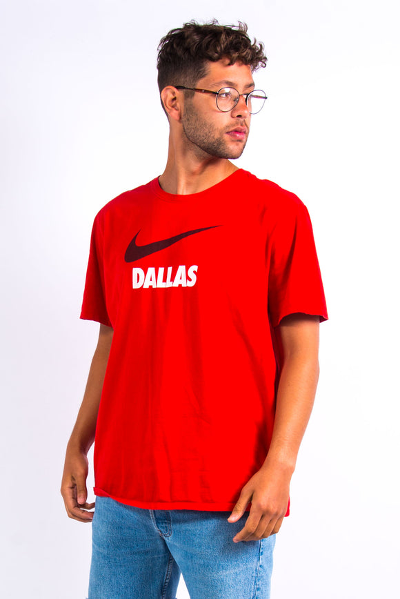 Red Nike Dallas T-Shirt