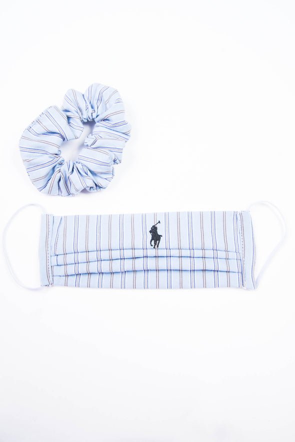 Ralph Lauren Face Mask & Scrunchie