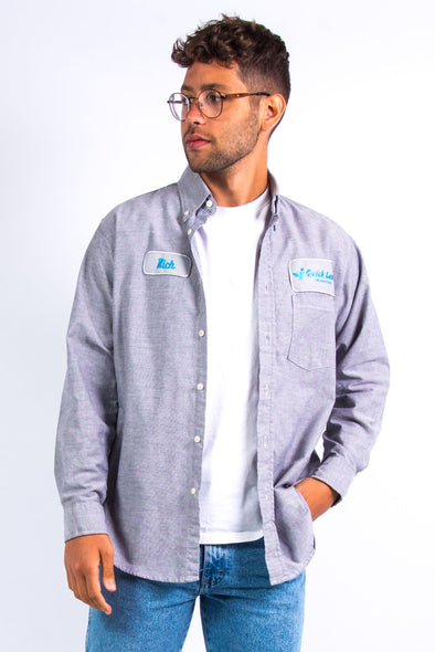 Vintage Grey USA Work shirt