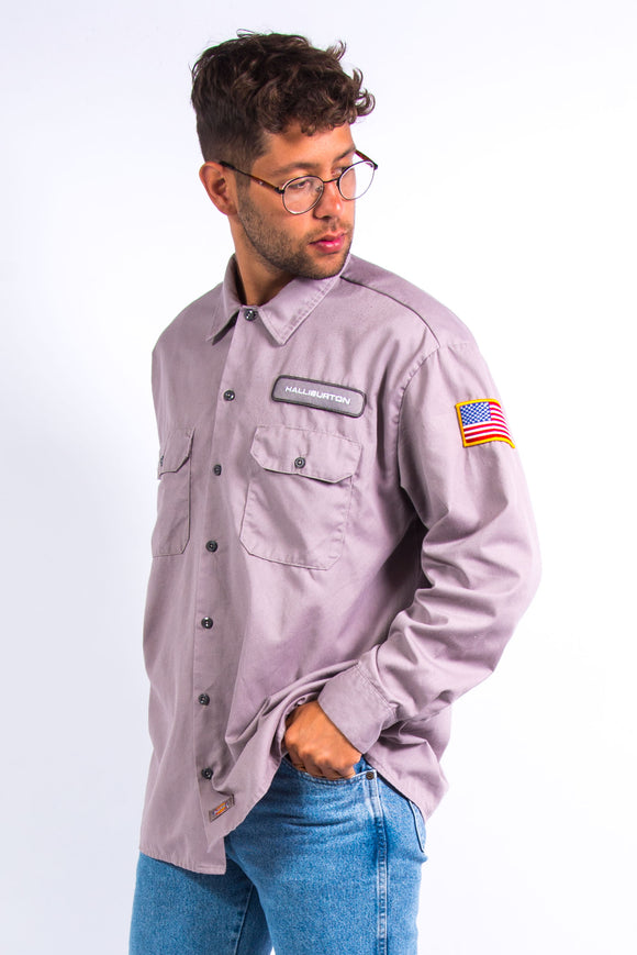 Vintage Dickies USA Work Shirt