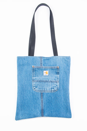 Carhartt Blue Tote Bag