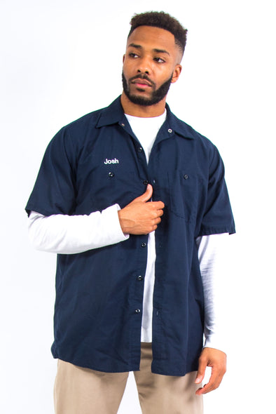 USA Red Kap Navy Work Shirt