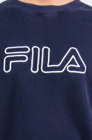 Fila Spell Out Sweatshirt