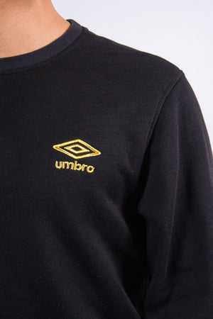90's Black Umbro Sweatshirt