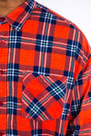 Red Check Flannel Shirt