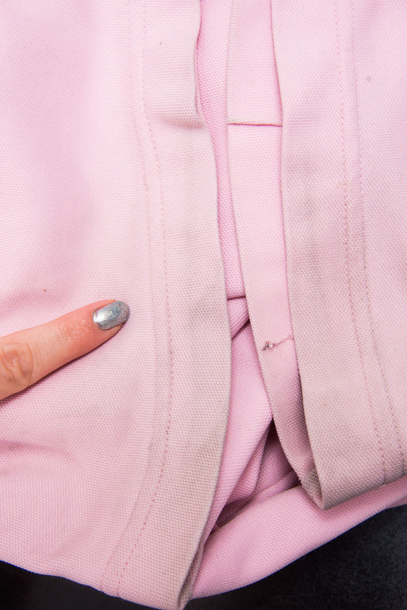 Vintage 90's Baby Pink Adidas Tracksuit Bottoms