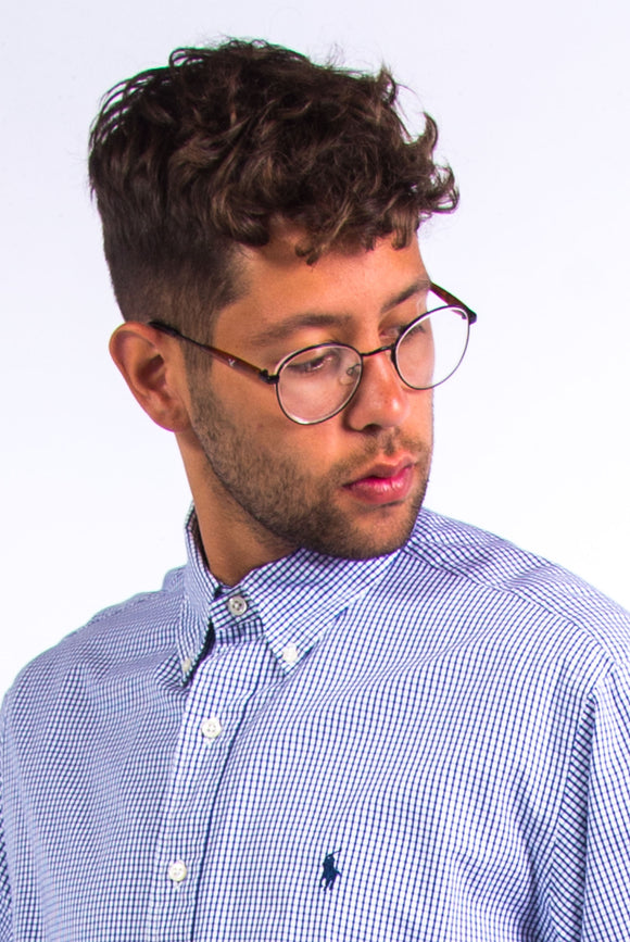 Vintage Ralph Lauren Blue Check Shirt