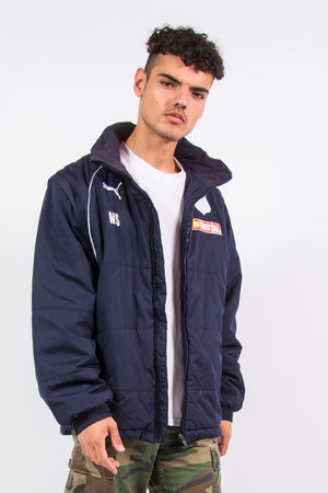Vintage Puma Padded Jacket Team Coat