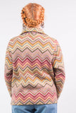 Vintage 90's Multicoloured Fleece Jacket