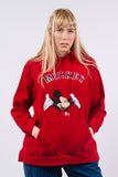 90's Mickey Mouse Fleece Hoodie Sweatshirt