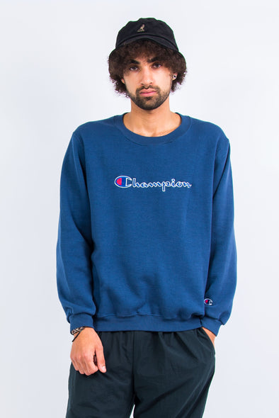 Champion Spell Out Sweatshirt