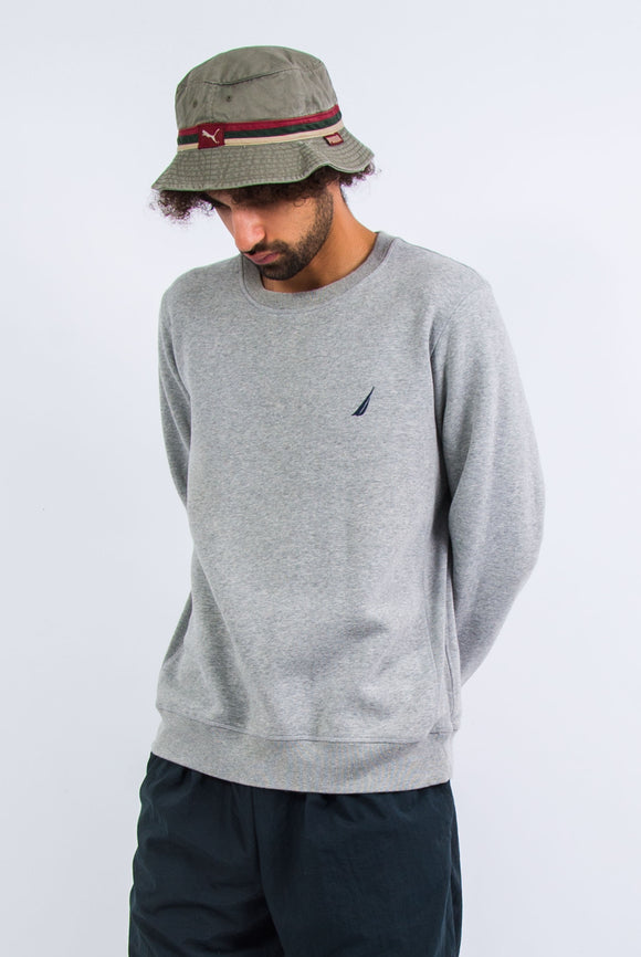 Grey Nautica Crew Neck Sweatshirt