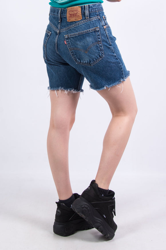 Vintage 90's Levi's Denim Mom Shorts