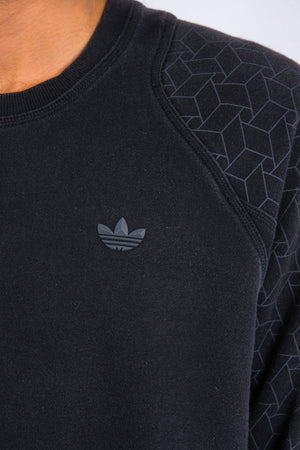 Adidas Originals Graphic Sleeve Sweatshirt