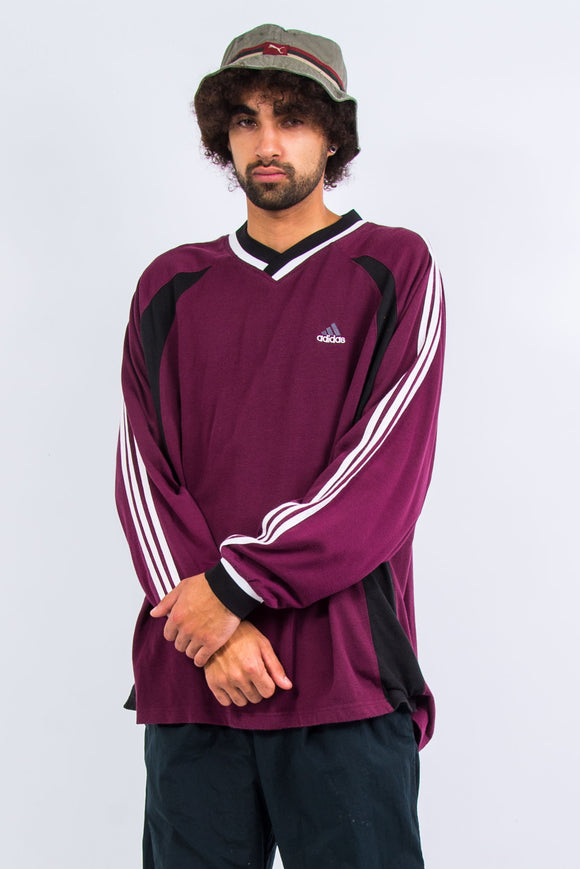 90's Adidas Long Sleeve T-Shirt