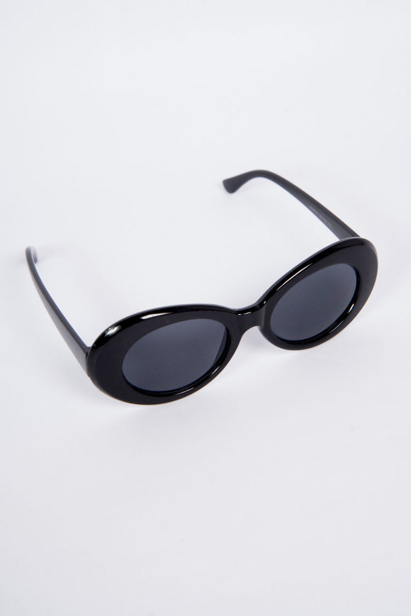 90's Black Kurt Sunglasses