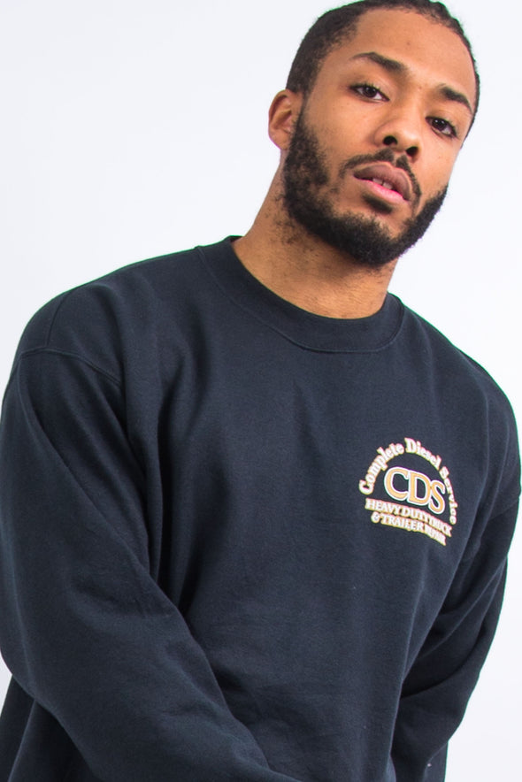 Vintage Champion Diesel Services Work Sweatshirt
