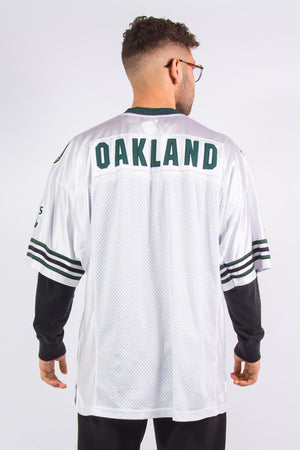 Vintage Oakland Athletics baseball team American football style jersey