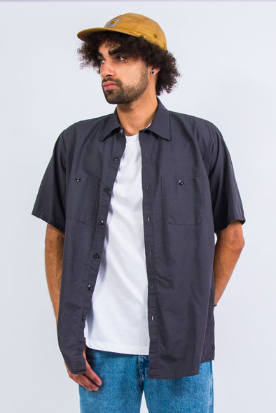 USA Red Kap Plain Work Shirt