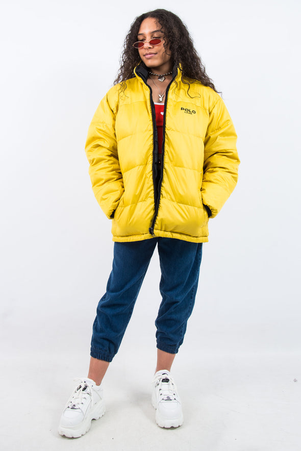 Vintage 90's Reversible Puffer Jacket Coat