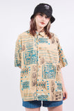Vintage 90's Vacation Oversize Shirt