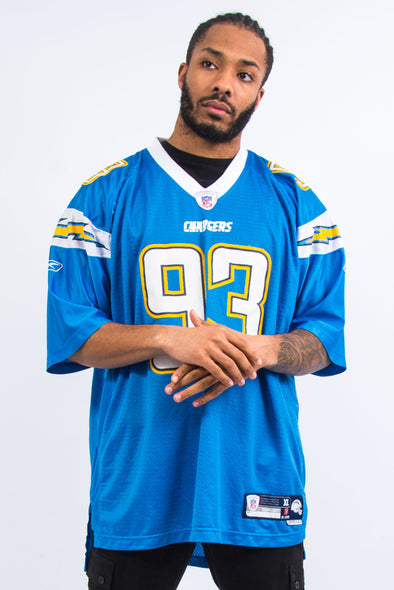 Vintage Reebok Chargers NFL Jersey