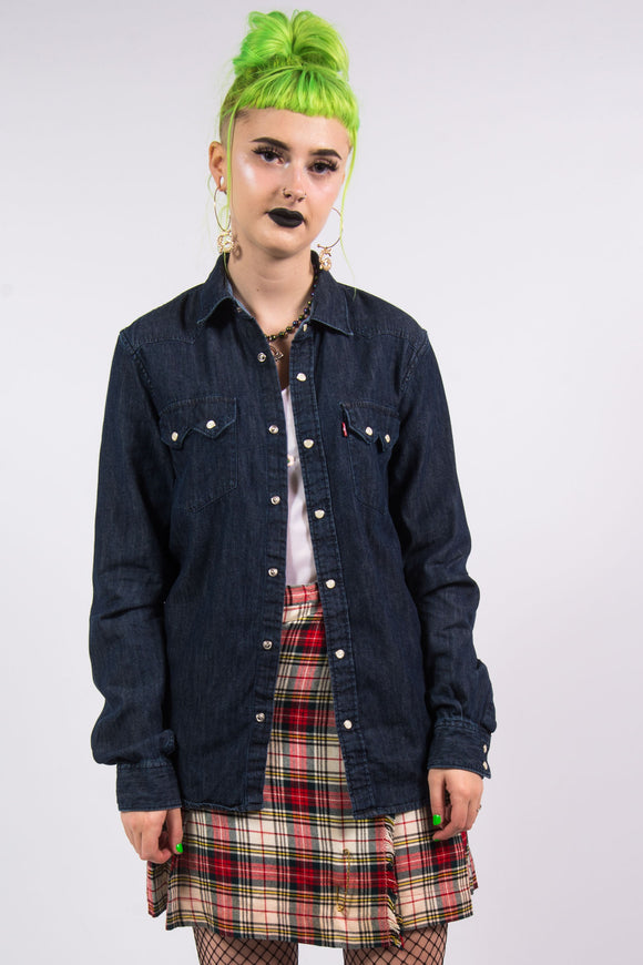 Vintage 90's Levi's Denim Shirt