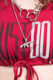 Vintage Nike Just Do It Super Cropped T-Shirt