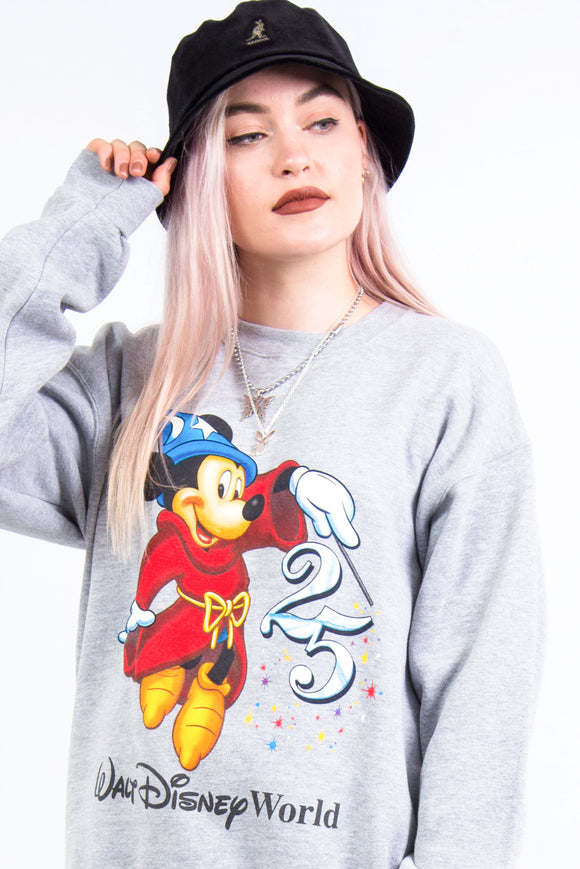 Vintage Disney World 25th Anniversary Sweatshirt