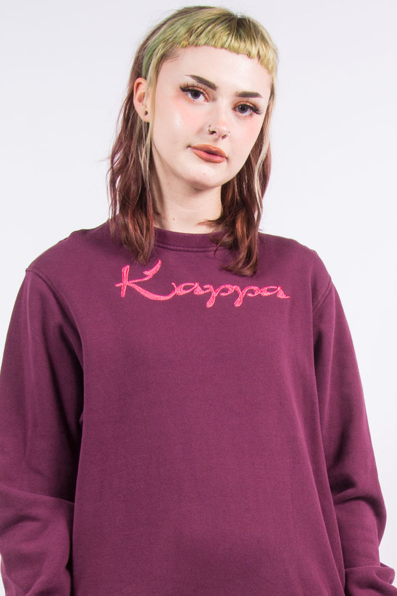Vintage Kappa Spell Out Sweatshirt